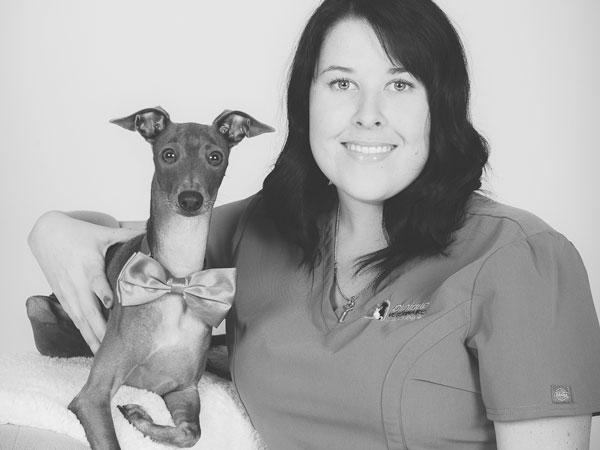 Félicita Ménard, technicienne en santé animale